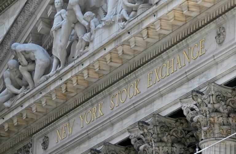La Bourse de New York (NYSE) à Wall Street, New York, le 3 août 2020 (AFP / Angela Weiss)